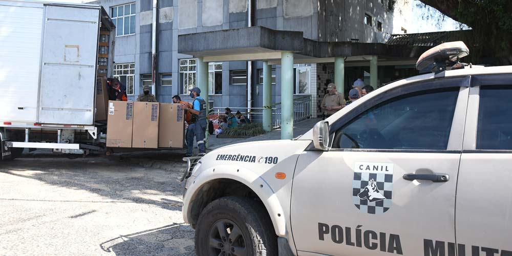 Equipamentos para novos leitos de UTI chegam ao Hospital São Donato