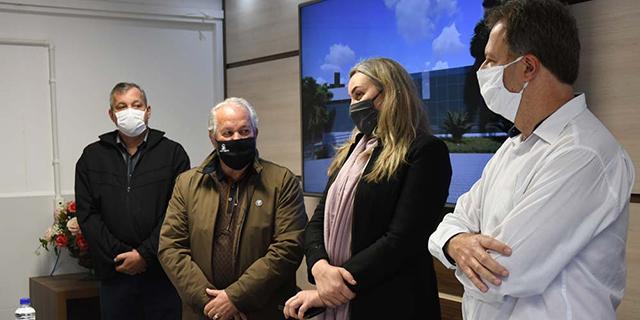 Direção do HSD apresenta projeto do Centro de Imagem para vice-governadora