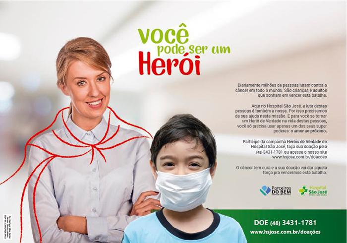 Campanha Heróis de Verdade do HSJosé alcança 1000 doadores em cinco meses