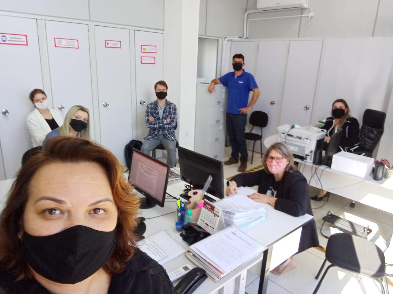 Alternativa virtual mantém encontros dos Conselhos Municipais de Içara