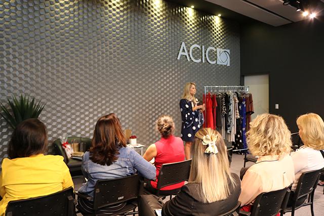Mulheres mostram força no mundo dos negócios durante evento na Acic