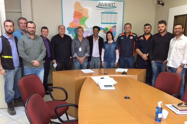Colegiado de Defesa Civil é criado na AMREC