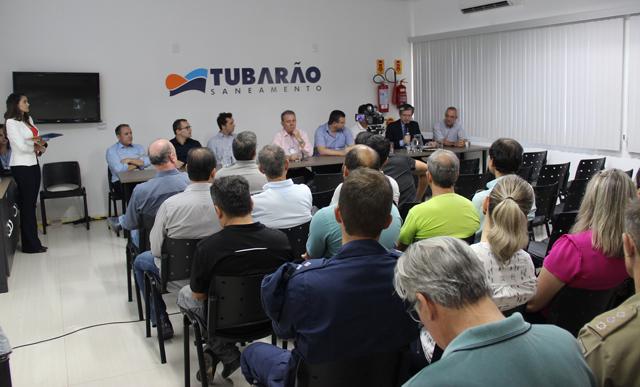 Tubarão Saneamento anuncia pacote de obras