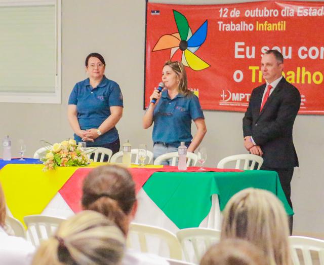 Capacitação sobre o trabalho infantil é realizada em Içara