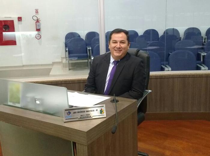 Jair Anastácio avalia período na Câmara de Vereadores