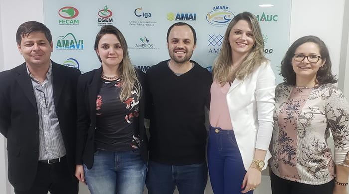 Novo presidente do Colegiado Estadual de Gestores de Convênios da Fecam