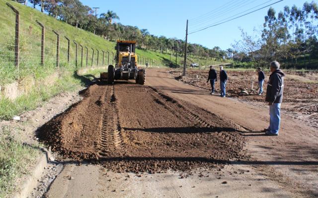 Estradas de Urussanga irão receber melhorias