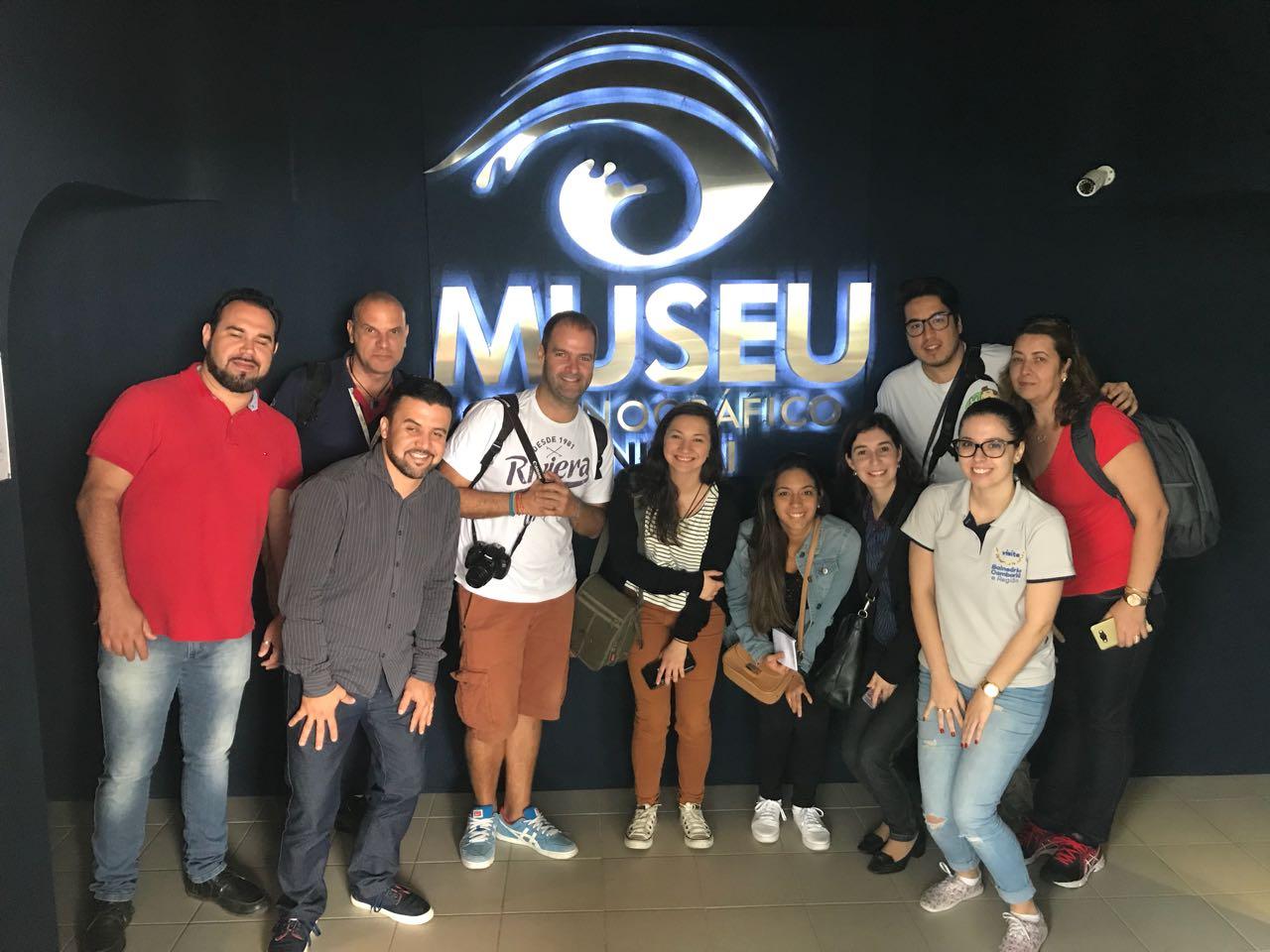 Jornalistas e blogueiros conhecem Balneário Camboriú
