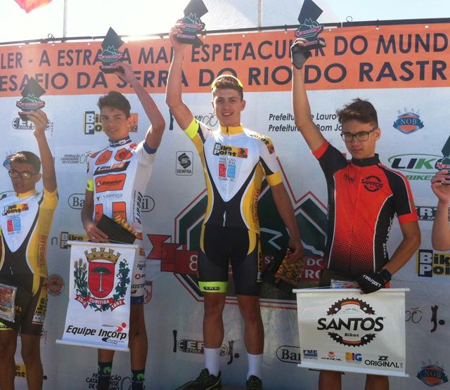 Içara se destaca no desafio de ciclismo na Serra do Rio do Rastro