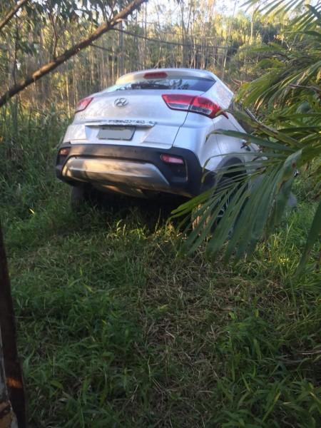 Dupla é detida em Içara após roubar veículo na cidade de Criciúma