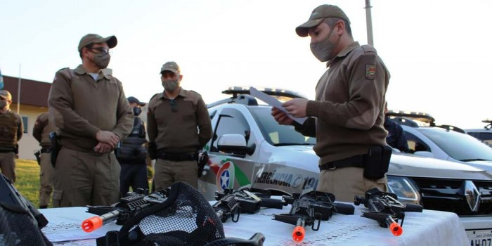 Polícia Militar faz aquisições para aprimoramento do serviço em Içara