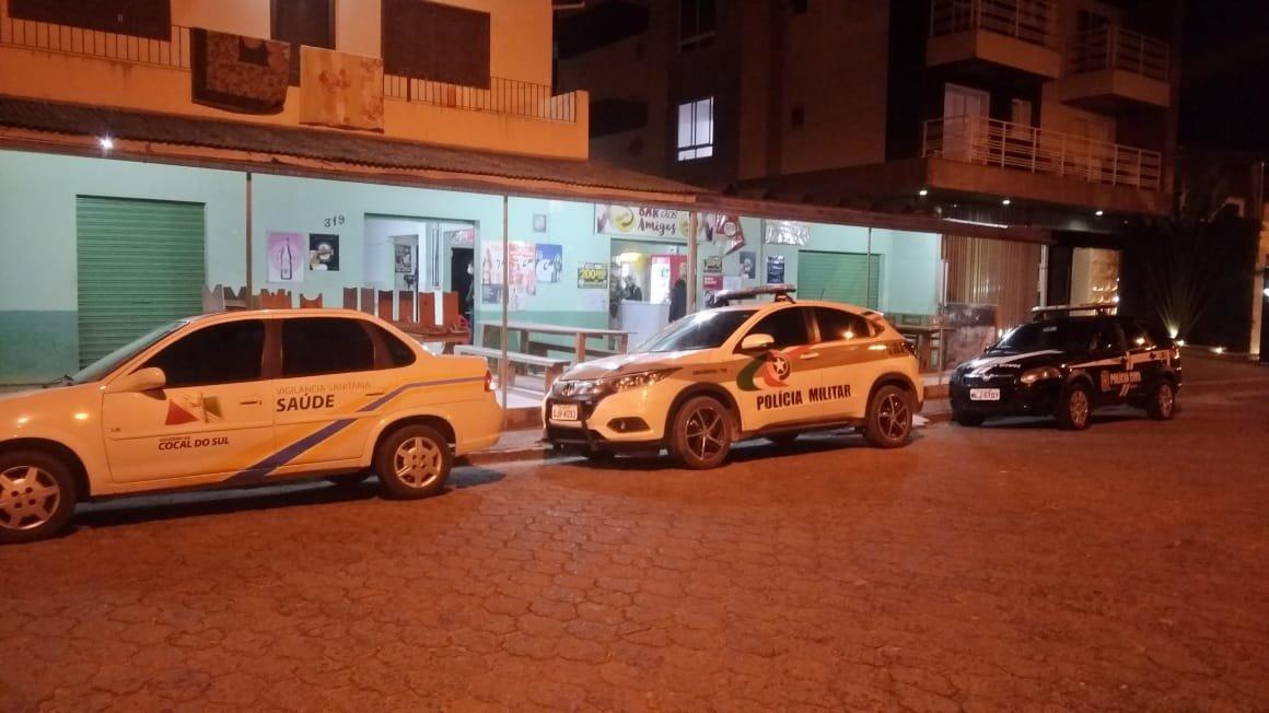 Fiscalização em estabelecimentos comerciais de Cocal do Sul será intensificada