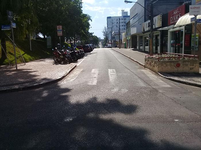 Centro da cidade terá rua coberta