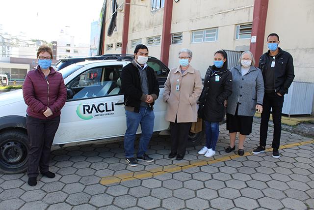 Grupo RAC promove a entrega de cestas básicas ao Hospital São José