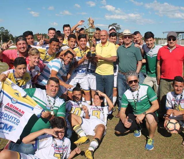 Rincão faz história e conquista título do Regional da Larm