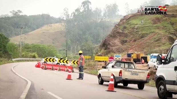 Tráfego na Serra do Rio do Rastro tem alterações a partir de segunda-feira