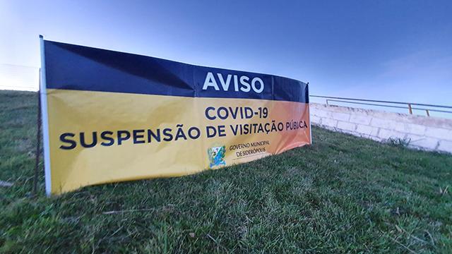 Administração de Siderópolis proíbe visitação a Barragem do Rio São Bento