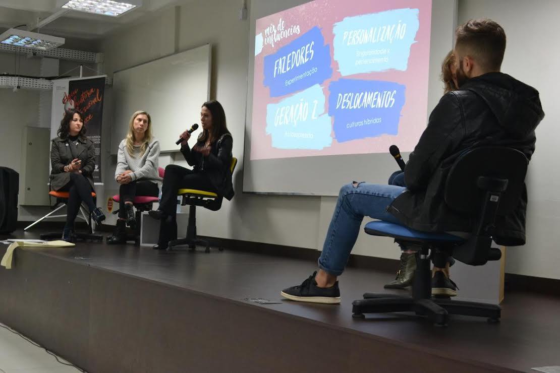 Estudantes e profissionais debatem sobre moda e design