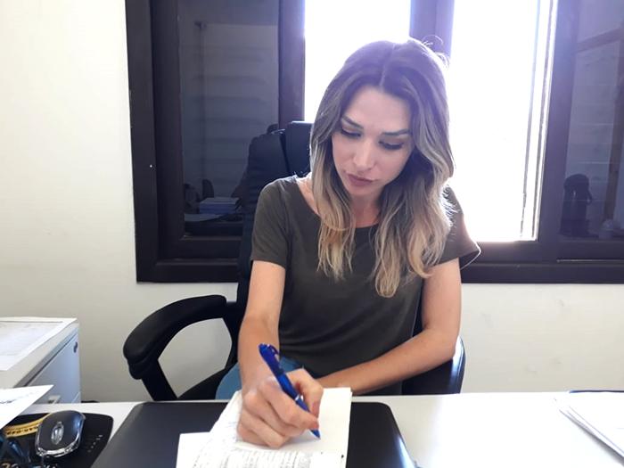 Engenheira Taynan Toretti assume a superintendência da Fundai