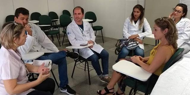 HSD recebe residentes multiprofissionais da Unesc