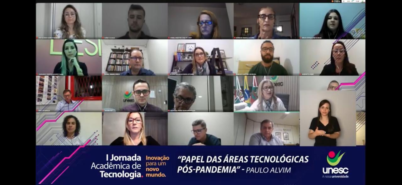 Paulo Alvim abre Primeira Jornada Acadêmica de Tecnologia da Unesc