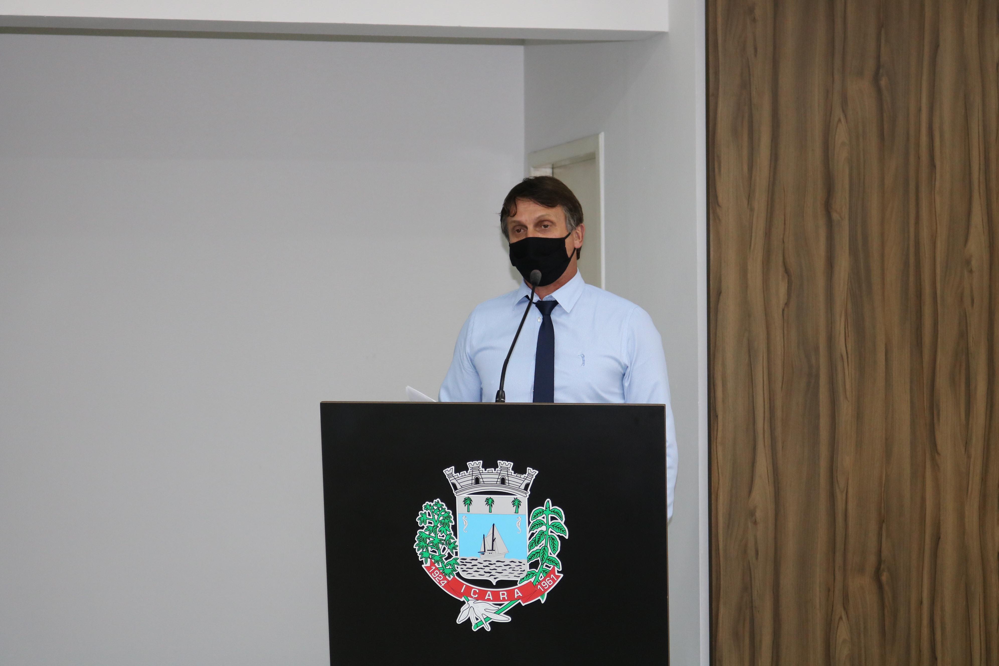 Vereador Gelson Possamai solicita faixas elevadas no Bairro Poço Três