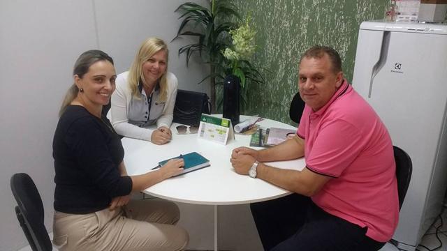 Baldissera busca apoio para realização de exames em empresas