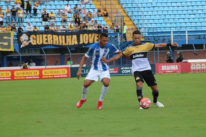 Criciúma sofre derrota em Florianópolis