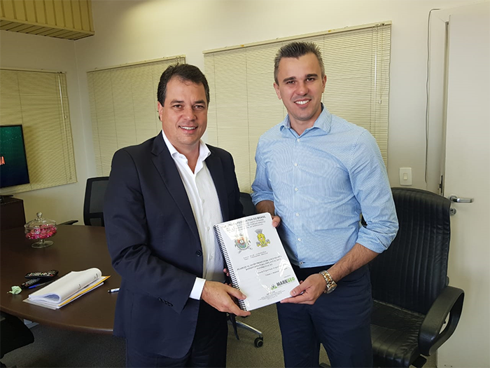 Deputado entrega projeto de pavimentação da Rodovia Jacob Westrup