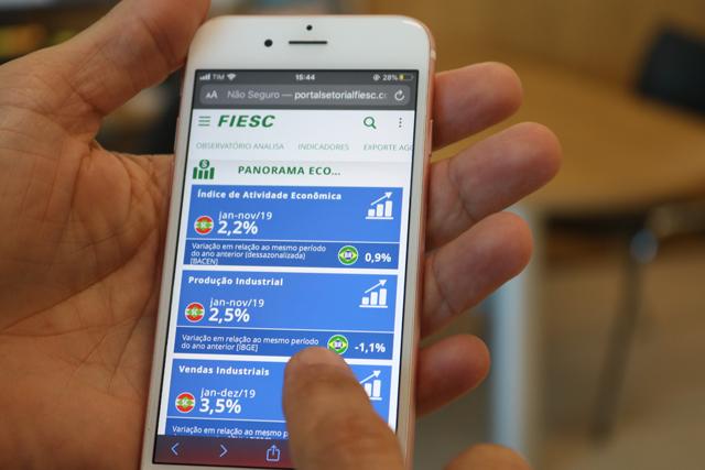 Parceria entre Acic e Fiesc possibilita banco de dados aos empresários