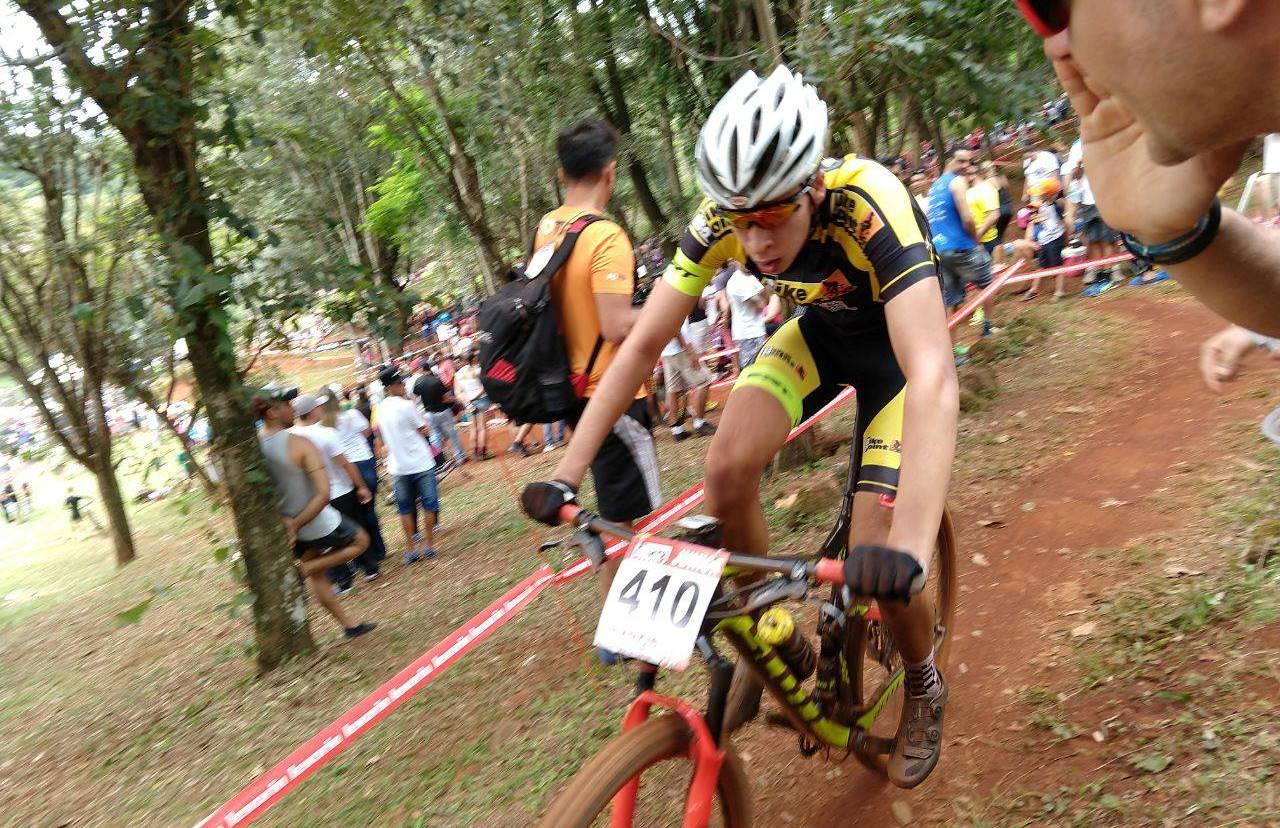 Içara no pódio da Copa Internacional de Mountain Bike