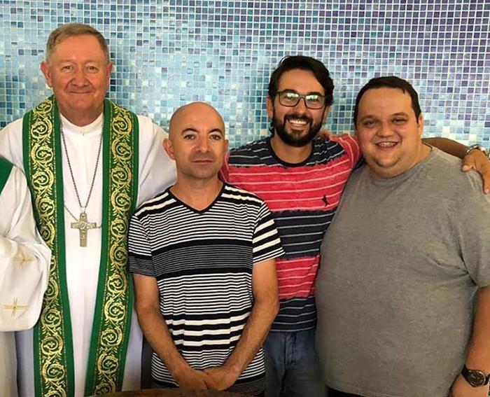 Três novos diáconos para a Igreja Diocesana de Criciúma