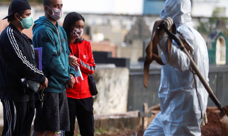 Brasil registra 145 mil casos de coronavírus (covid-19) e 10.627 mortes