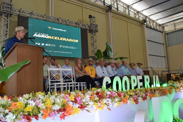 Administração de Jacinto Machado presente no 15º Campo Agroacelerador da Cooperja