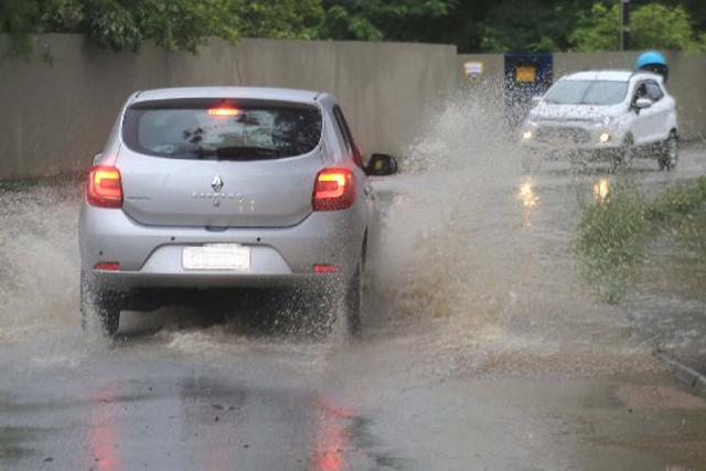 Dez municípios registraram ocorrências por causa das chuvas