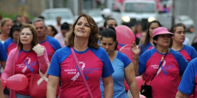 Rede Feminina terá caminhada dedicada ao Outubro Rosa no sábado