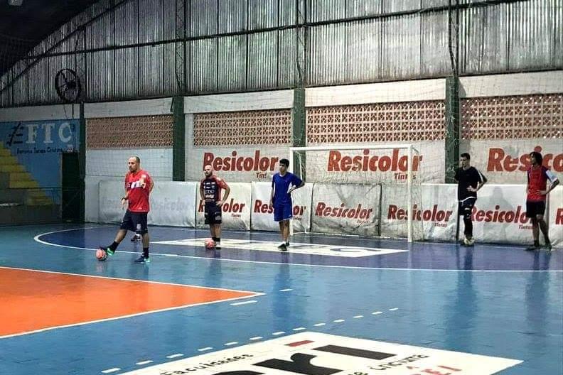 Siderópolis Futsal se reapresenta e inicia os treinamentos