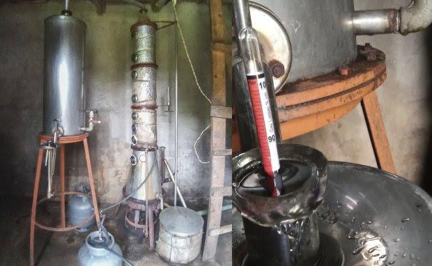 Com tecnologia da Epagri destilaria de cachaça produz álcool 70%