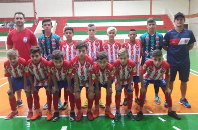 Içara entra em quadra pelo Estadual de Futsal Sub-13