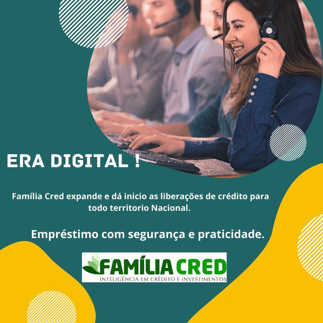 Agência de Empréstimos Família Cred facilita para os clientes na era digital