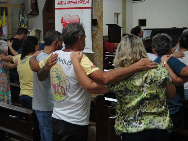 Comunidade se prepara para o Experiência de Oração em Siderópolis