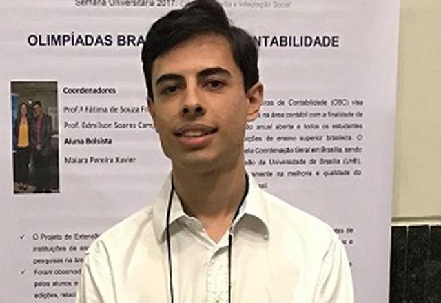 Campeão brasileiro de Contabilidade fala sobre seus estudos