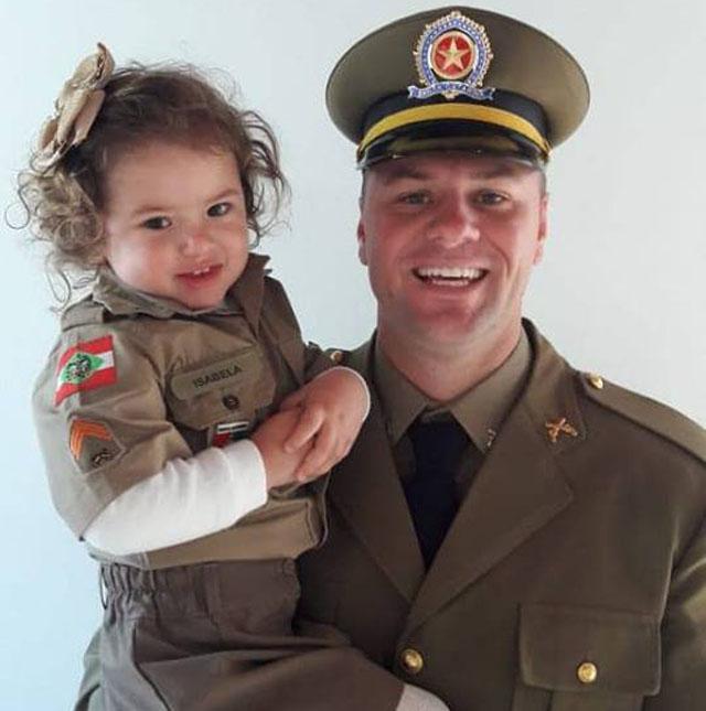 Parabéns Sargento Jochem pelo Dia dos Pais