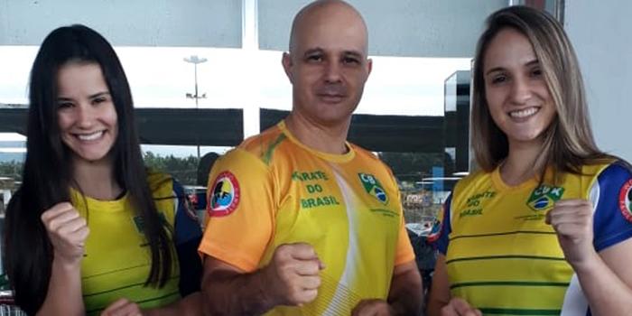 Sabrina e Carolaine Pereira chegam ao topo do ranking mundial no caratê