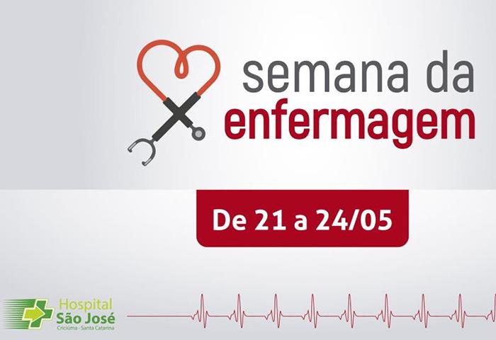 Hospital São José inicia semana de enfermagem