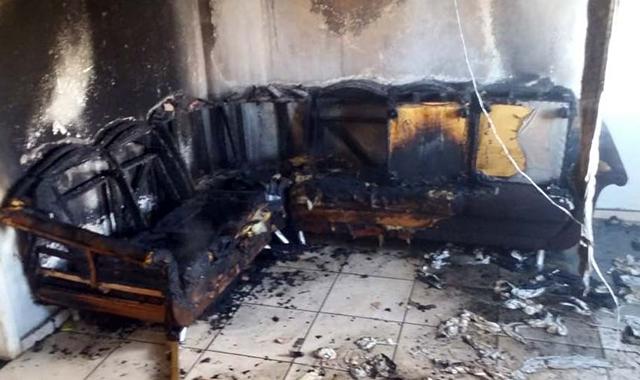 Bombeiros controlam incêndio em Jaqueline