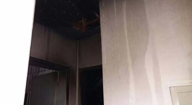 Incêndio em residência em Balneário Rincão