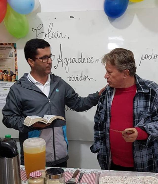 Parabéns professor José Clair Nietto pela aposentadoria