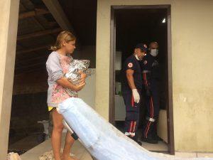 Depois de passar pelo São Donato, mais um bebê nasce em casa
