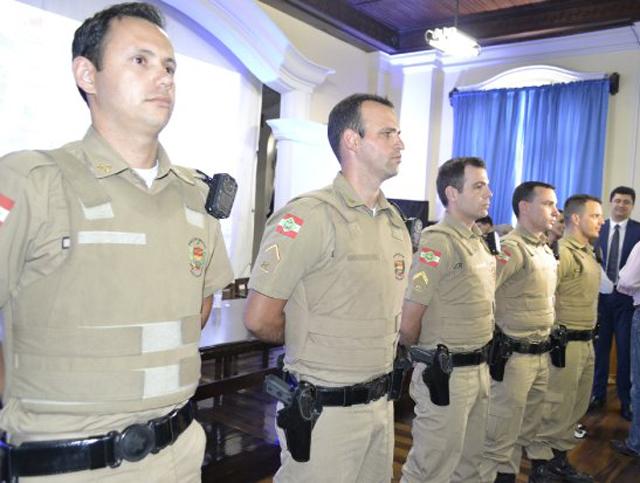 PM receberá recursos para instalação de câmaras no uniforme